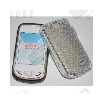 Funda Gel Samsung Corby 3G S3370 Transparente Diamond