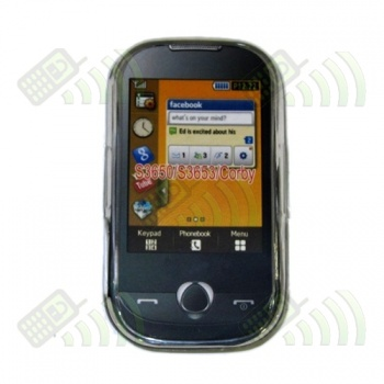 Funda Gel Samsung Corby S3650/S3653 Transparente Diamond