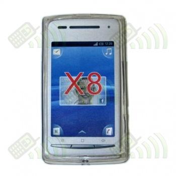 Funda Gel SE Xperia X8 Transparente Diamond