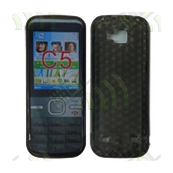 Funda Gel Nokia C5-00 Oscura Diamond