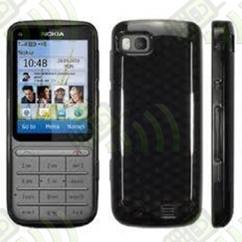 Funda Gel Nokia C3-01 Oscura Diamond