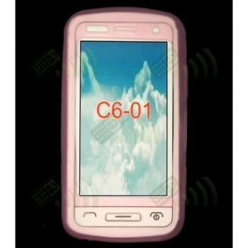 Funda Gel Nokia C6-01 Rosa