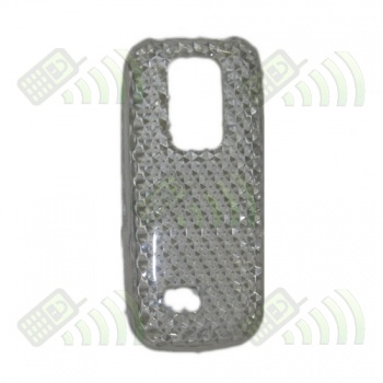 Funda Gel Nokia 5130 Transparente Diamond