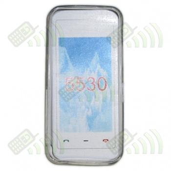 Funda Gel Nokia 5530 Transparente Diamond