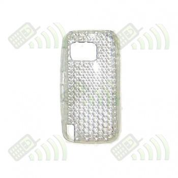 Funda Gel Nokia 5230/5800 Transparente Diamond