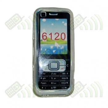 Funda Gel Nokia 6120 Transparente Diamond
