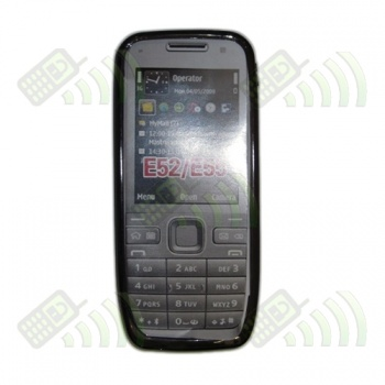 Funda Gel Nokia E52 y E55 Oscura Diamond