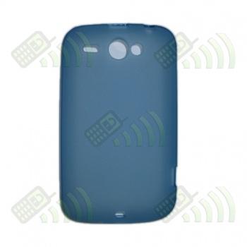 Funda Gel HTC Wildfire Azul