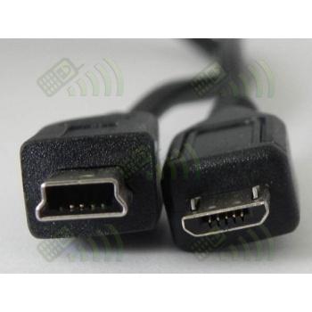 Cargador dual micro & mini USB Universal coche