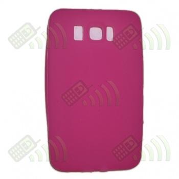 Funda Silicona HTC Touch HD 2 Rosa