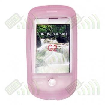 Funda Silicona HTC Magic Rosa