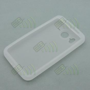 Funda Silicona HTC Desire HD Semitransparente