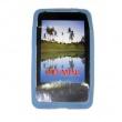 Funda Silicona HTC HD Mini Azul