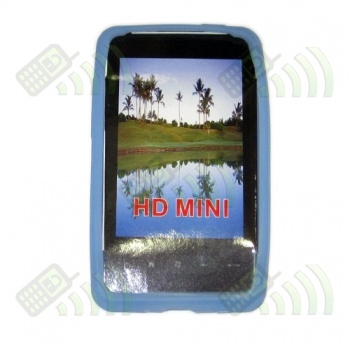 Funda Silicona HTC HD Mini Azul