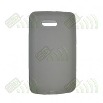 Funda Silicona HTC HD Mini Semitransparente