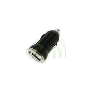 Adaptador Puerto USB coche Negro