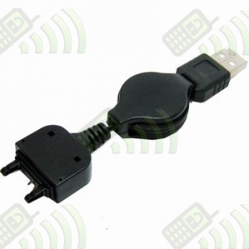 Cargador USB enrollable Sony Ericsson