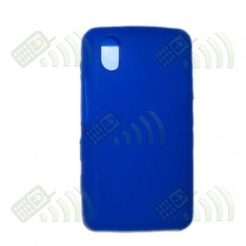 Funda Silicona LG KP500 KP501 KP502 KP505 Azul