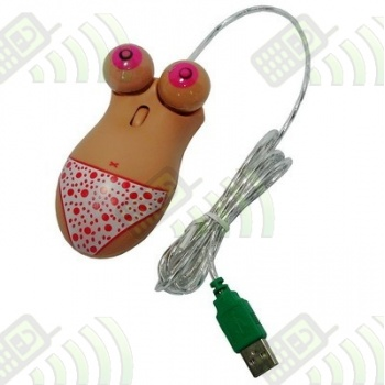 Raton Sexy optico cable usb