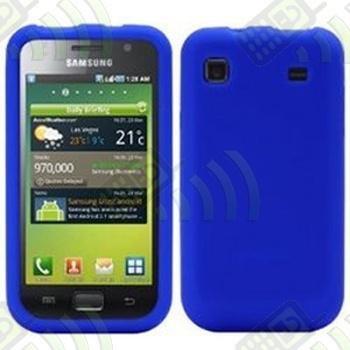 Funda Silicona Samsung Galaxy S i9000 / S Plus i9001 Azul