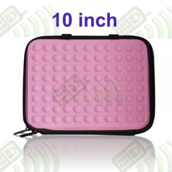 Funda Mini Portatil 10 pulgadas Rosa