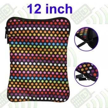 Funda Mini Portatil 12 pulgadas Multicolor