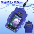 Funda Impermeable movil camara mp3 mp4 Azul