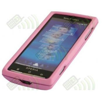 Carcasa Sony Ericsson X10 Rosa