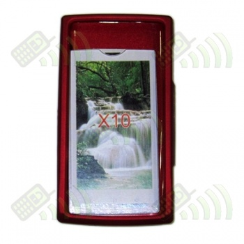 Carcasa Sony Ericsson X10 Roja