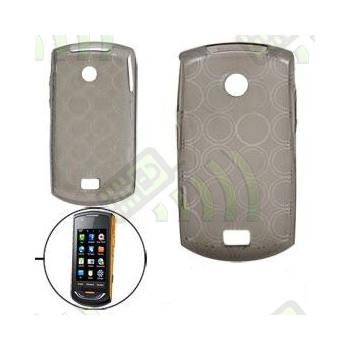 Funda Gel Samsung Onix s5620 Oscura Círculos