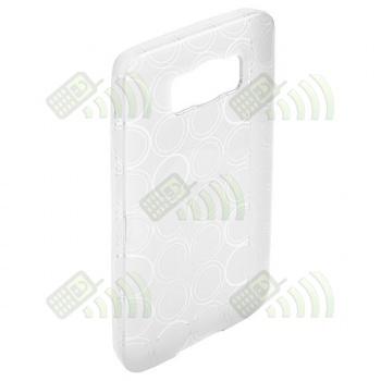 Funda Gel HTC Touch HD 2 Transparente Círculos