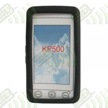 Funda Silicona LG KP500 KP501 KP502 KP505 Negra