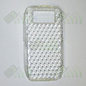 Funda Gel Nokia E71 Transparente Diamond