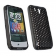 Funda Gel HTC Legend Negra Diam.