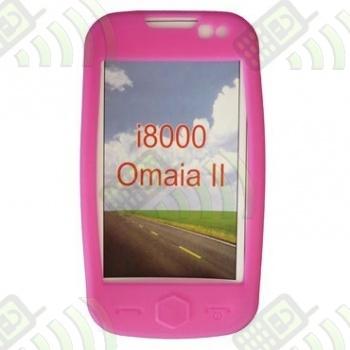 Funda Silicona Samsung Omnia 2 i8000 Rosa