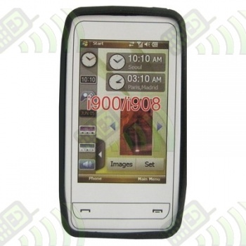 Funda Silicona Samsung i900 Omnia Semitransparente