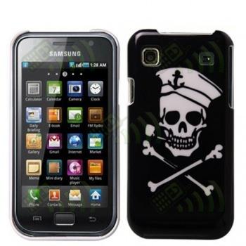 Carcasa trasera Samsung i9000 i9001 Pirata F.Negro
