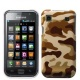 Carcasa trasera Camuflaje Samsung i9000 Fondo Marr