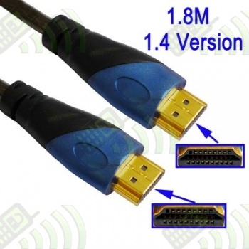 Cable HDMI a HDMI v.1.4 19pin 1,8m Premium