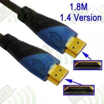 Cable HDMI a HDMI v.1.4 19pin 1,8m Premium