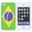 Carcasa trasera Brasil Iphone 4
