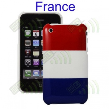 Carcasa trasera Francia Iphone 3G/3GS
