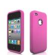 Funda Silicona Iphone 4 Rosa