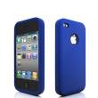 Funda Silicona Iphone 4 Azul