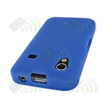 Funda Silicona Samsung Galaxy Ace S5830 Azul