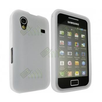 Funda Silicona Samsung Galaxy Ace S5830 Blanca