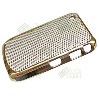 Carcasa trasera Blackberry 8520/9300 Dorada y Rosa