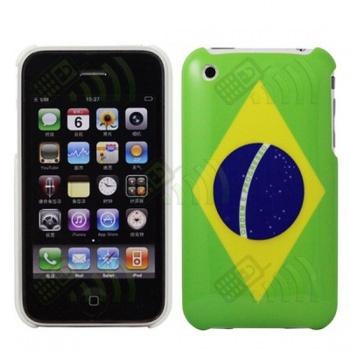 Carcasa trasera Brasil Iphone 3G/3GS