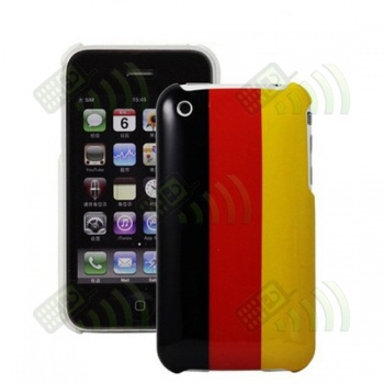 Carcasa trasera Belgica Iphone 3G/3GS