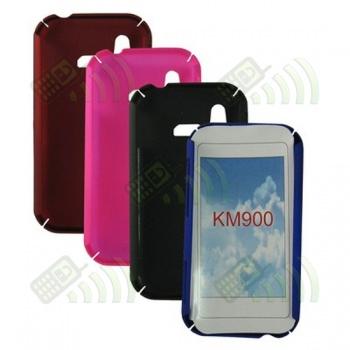 Carcasa trasera LG KM900 Roja
